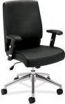HON Basyx Mid Back Leather Task Chair